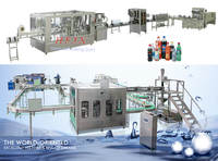 5000bph carbonated water filling machine production line