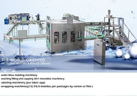 Automatic water bottling plant